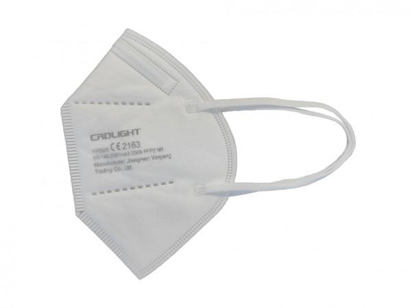 FFP2-Masken weiß, 25er Box (ab 0,59€ netto/St.)