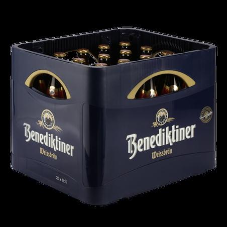Benediktiner Weissbier dunkel 20x0,50l