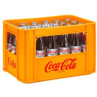 Coca Cola light 24x0,33l Glas