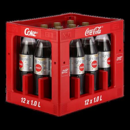 Coca Cola light koffeinfrei 12x1,00l PET