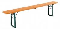 Bierbank Holz Kiefer 220x27cm