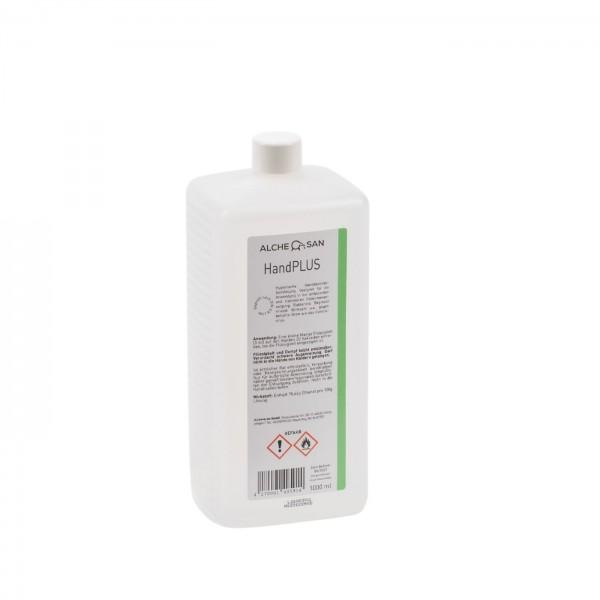Alchesan HAND+ Desinfektion 1,0l Vierkant-Euroflasche