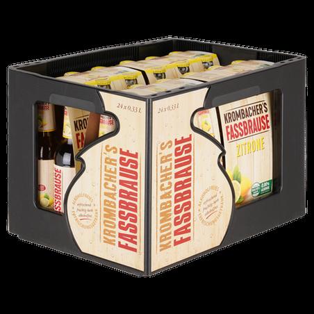 Krombacher Fassbrause Zitrone 4x 6x0,33l
