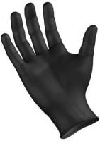 Einweghandschuhe schwarz Gr. L, 100 Stück
