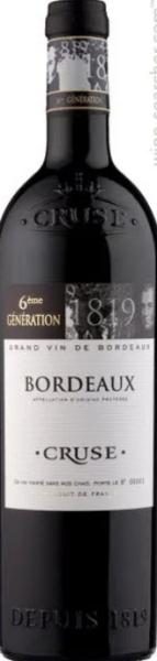 Cruse 6ème Bordeaux AOC