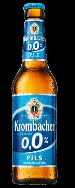 Krombacher Pils alkoholfrei 0,0% 24x0,33l