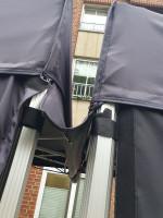 Regenrinne für Faltzelt 3m